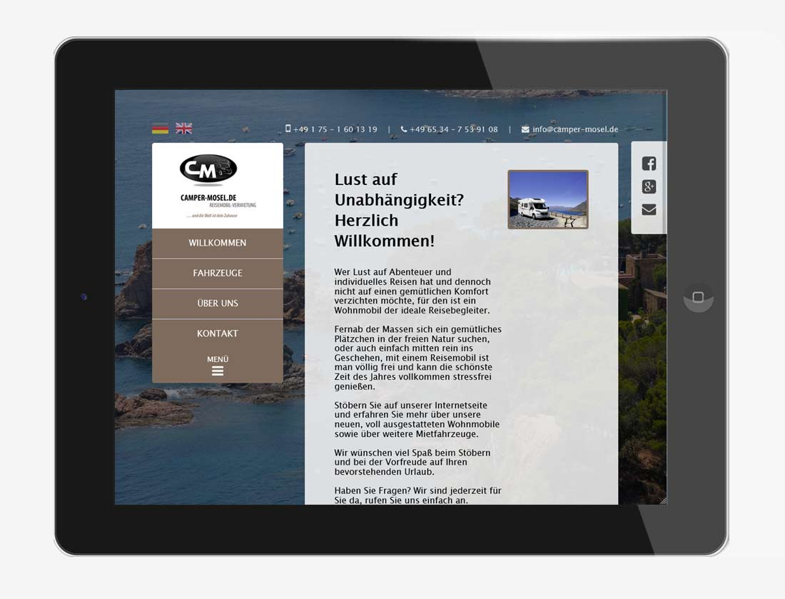 Referenz Webdesign Projekt #3